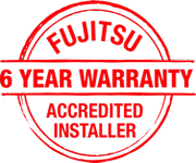 Thompson Electrical Provides Fujitsu Accredited Installer 6-Year Warranty