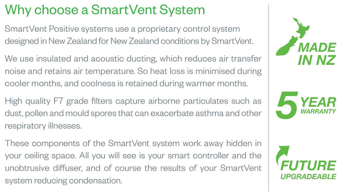 Why Choose SmartVent Ventilation With Thompson Electrical NZ